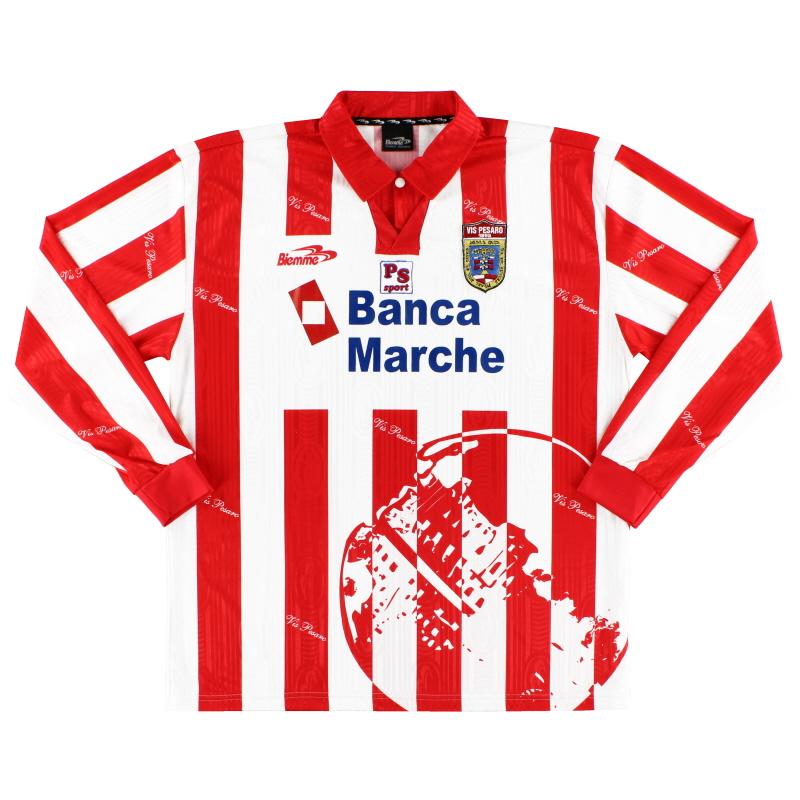 2001-02 Vis Pesaro Home Shirt L/S XL