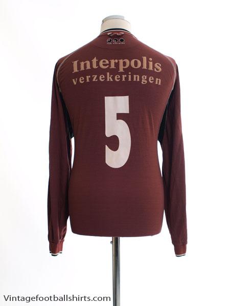 2001-02 Willem II Away Shirt L/S L
