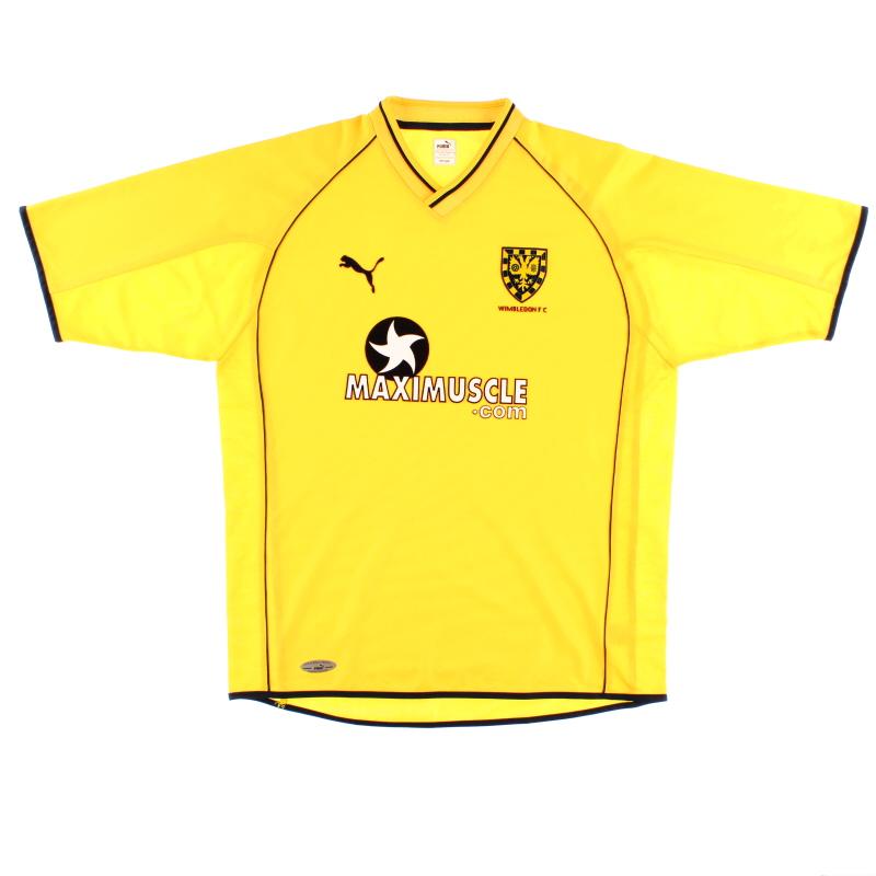 2001-02 Wimbledon Away Shirt *Mint* L