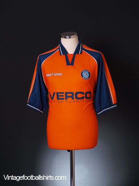 2001-02 Wycombe Wanderers Away Shirt M