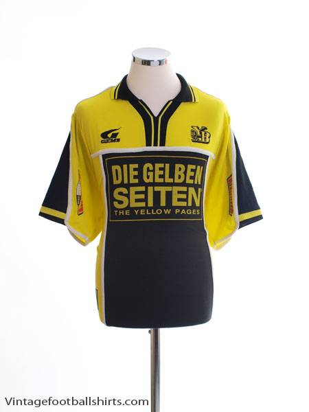 2001-02 Young Boys Home Shirt M