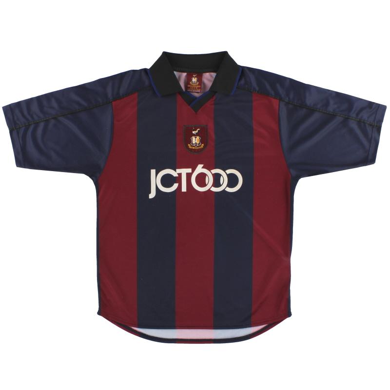 2001-03 Bradford City Away Shirt S