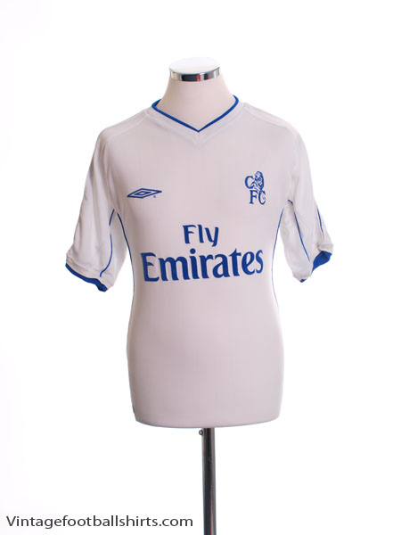 2001-03 Chelsea Away Shirt L.Boys