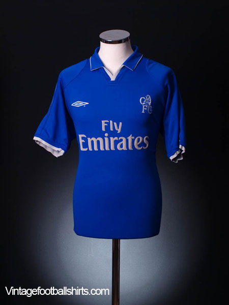 2001-03 Chelsea Home Shirt *Mint* M