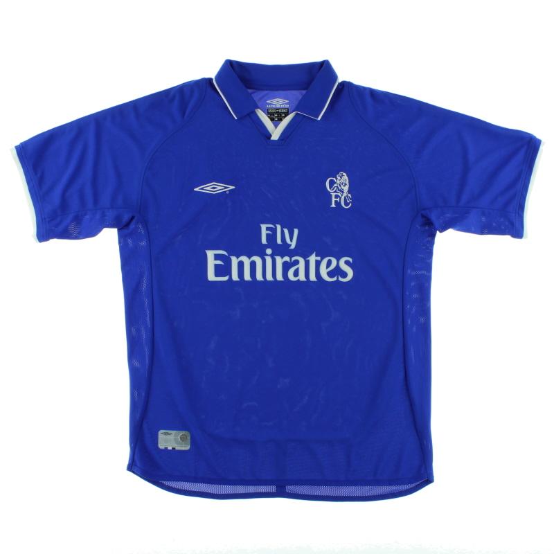 2001-03 Chelsea Home Shirt *Mint* L