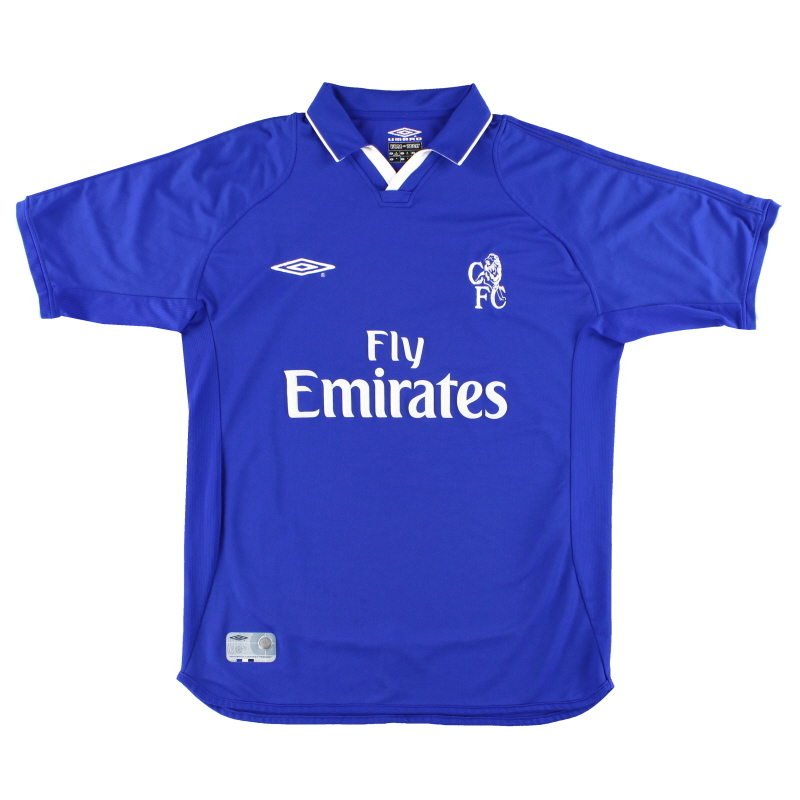 2001-03 Chelsea Umbro Home Shirt *Mint* XL