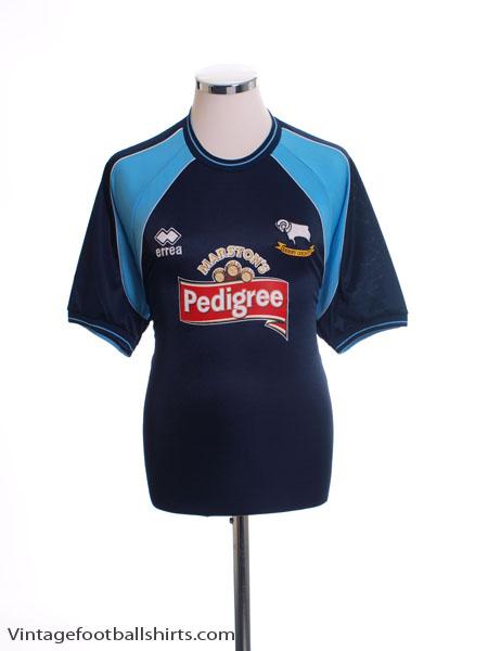 2001-03 Derby County Away Shirt *Mint* XL