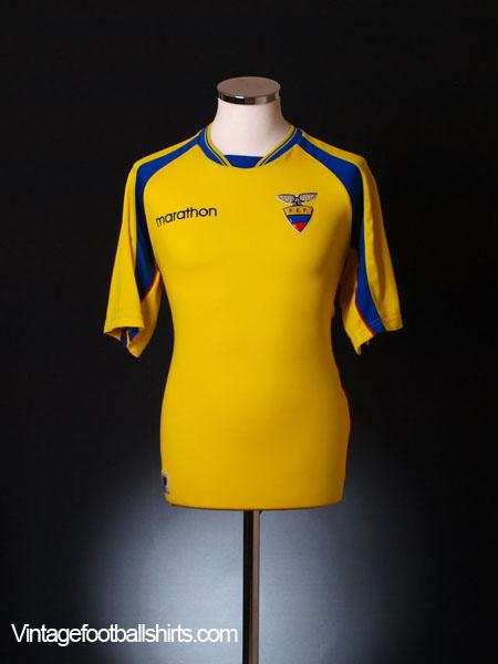 2001-03 Ecuador Home Shirt L