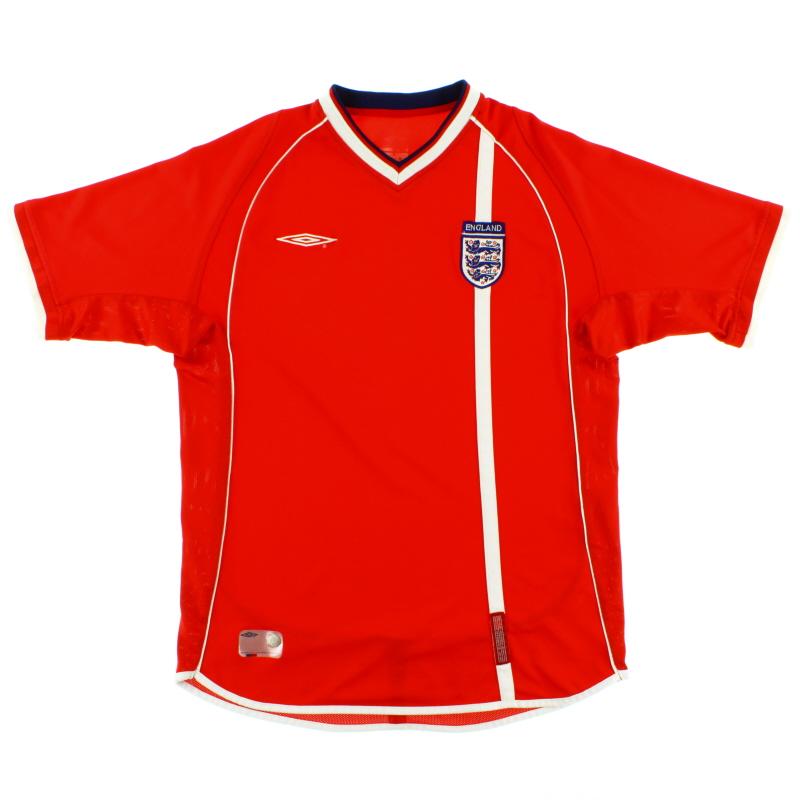 2001-03 England Away Shirt XL