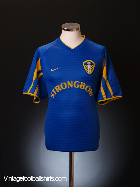 2001-03 Leeds Away Shirt XL.Boys