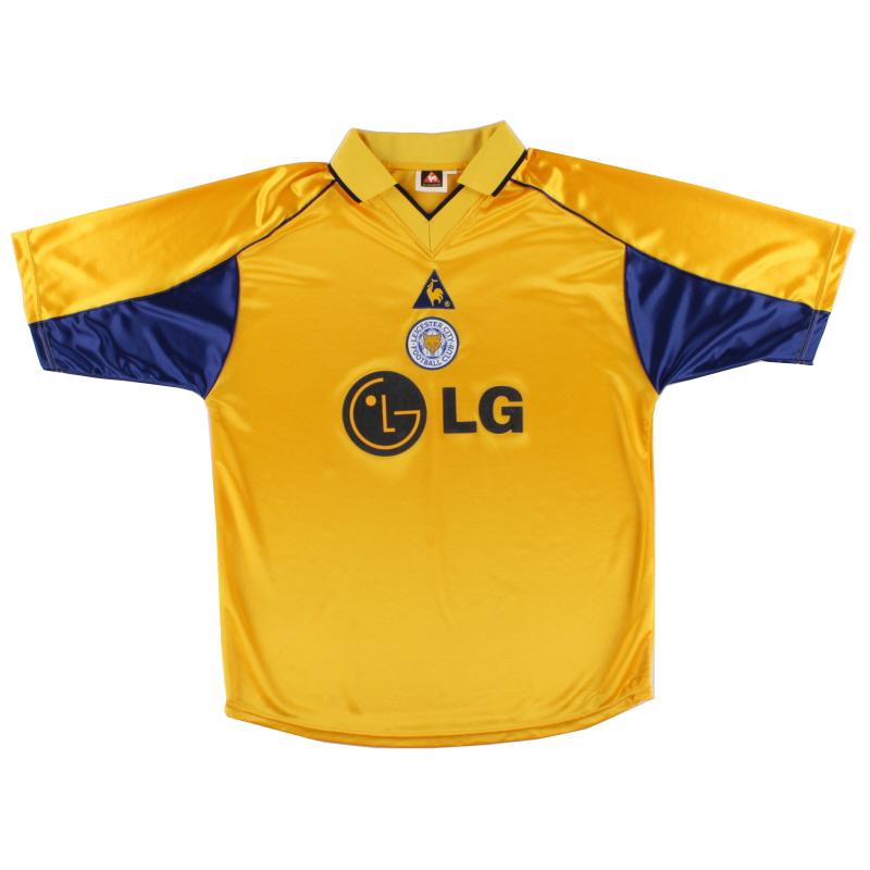 2001-03 Leicester Le Coq Sportif Third Shirt XL