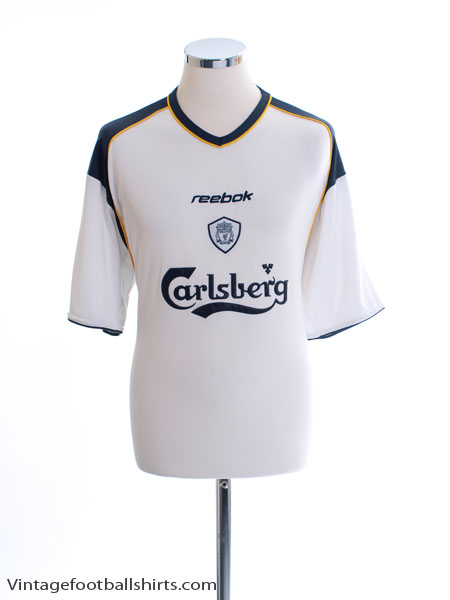 2001-03 Liverpool Away Shirt #8 L