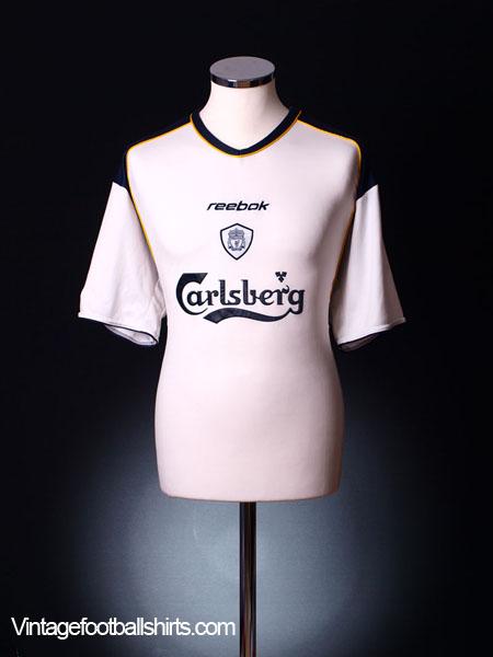 2001-03 Liverpool Away Shirt L
