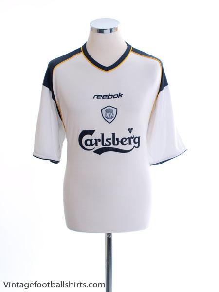 2001-03 Liverpool Away Shirt XL