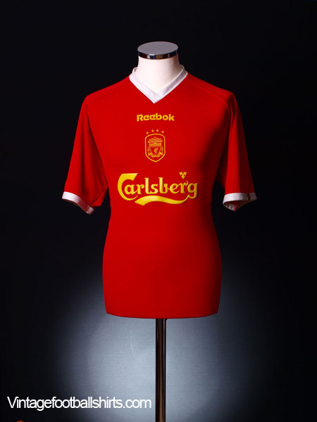 2001-03 Liverpool European Shirt XL