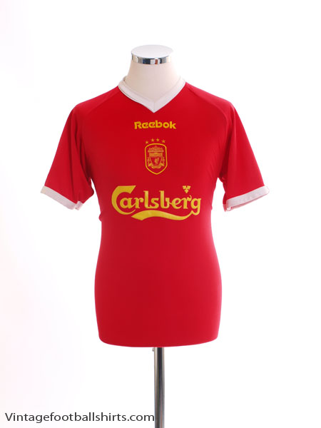 2001-03 Liverpool European Shirt S