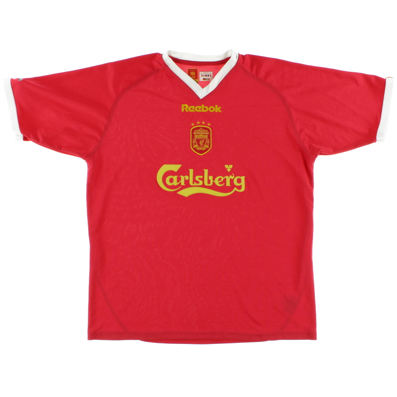 2001-03 Liverpool European Shirt *Mint* L
