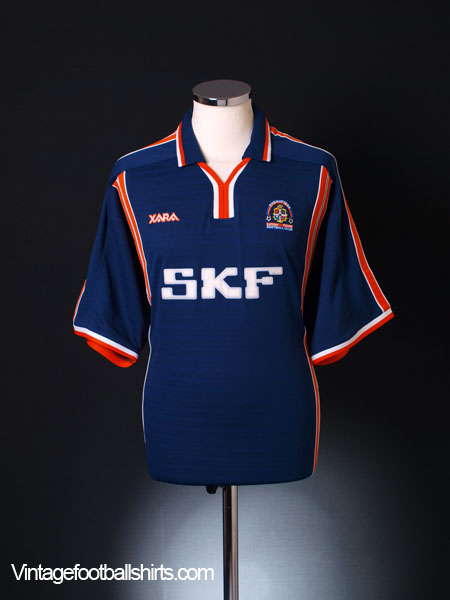 2001-03 Luton Town Away Shirt XL