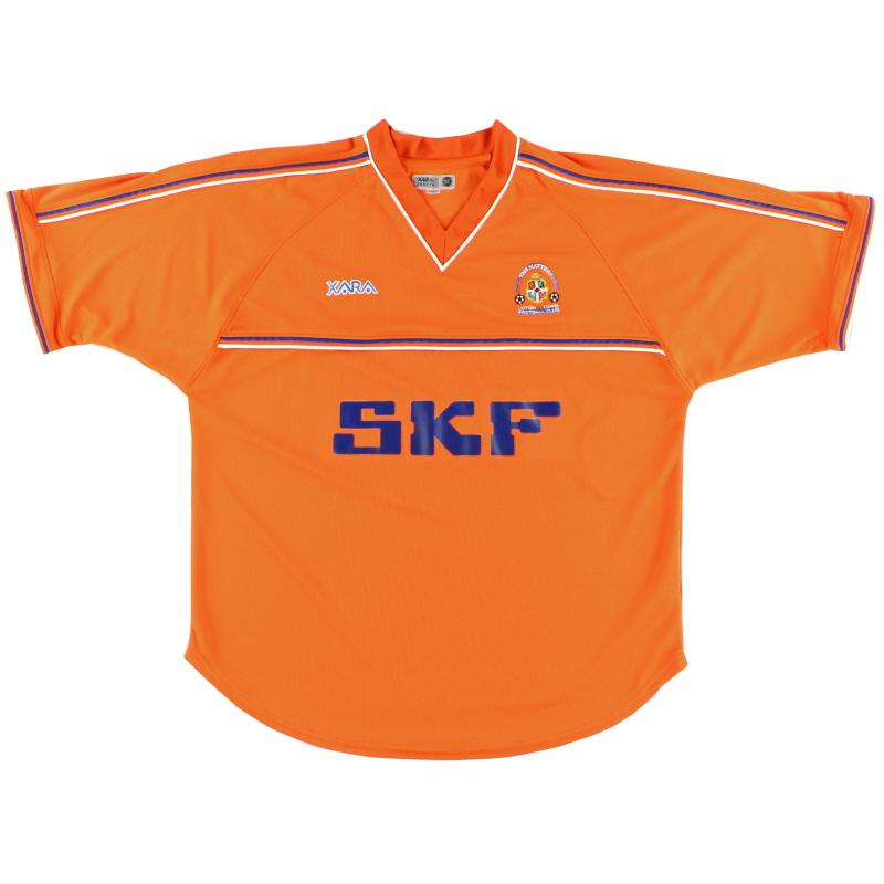 2001-03 Luton Town Away Shirt *Mint* L