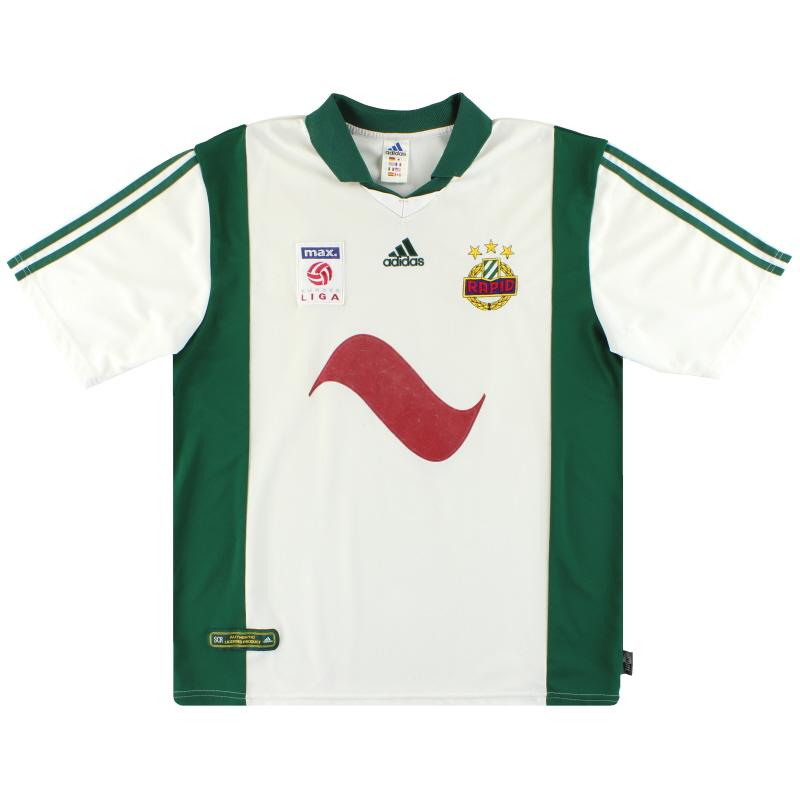 2001-03 Rapid Vienna adidas Home Shirt XL - 695589