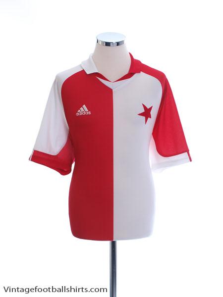 2001-03 Slavia Prague Home Shirt L - 904363