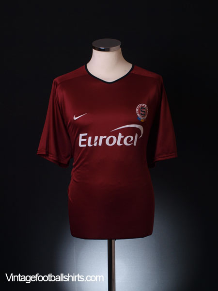 2001-03 Sparta Prague Home Shirt XL
