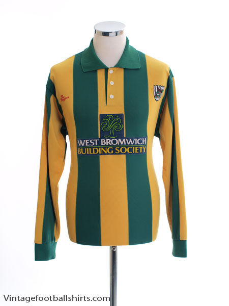 2001-03 West Brom Away Shirt L/S M