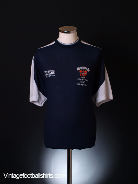 2001 Blackpool Play-Off Final Polo Shirt M