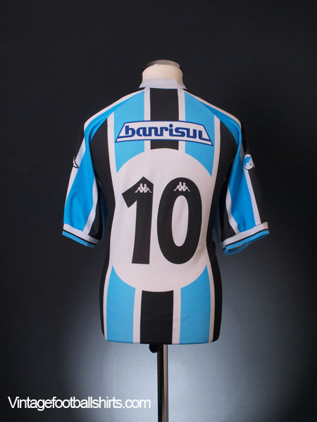 2001 Gremio Home Shirt #10 XL