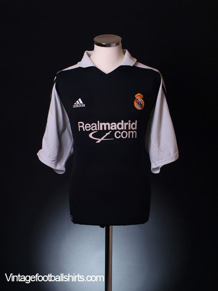 2001 Real Madrid Away Shirt *BNWT* XL