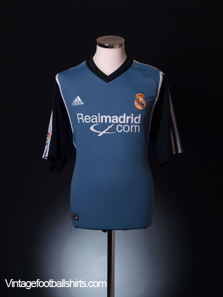 2001 Real Madrid Third Shirt L