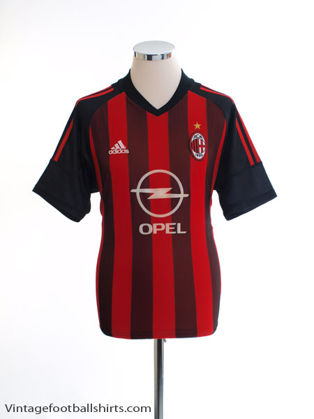 2002-03 AC Milan Home Shirt S