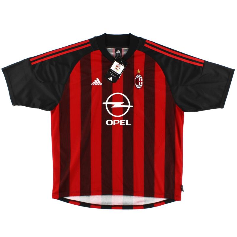 Maglia Home AC Milan 2002-03 * con cartellini * XL in vendita 156165