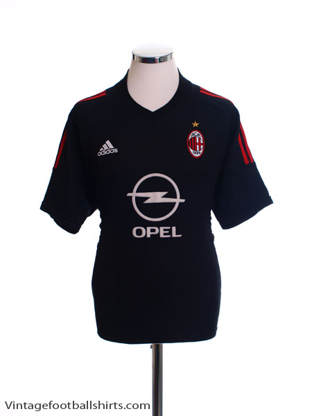 2002-03 AC Milan Third Shirt M