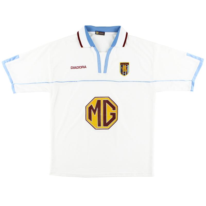 2002-03 Aston Villa Diadora Away Shirt XL