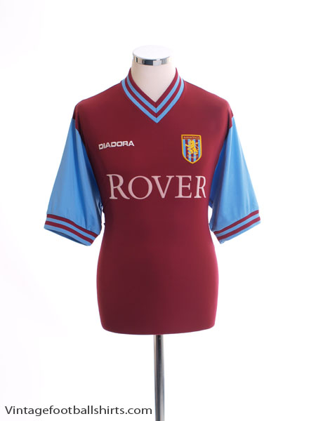 2002-03 Aston Villa Home Shirt M
