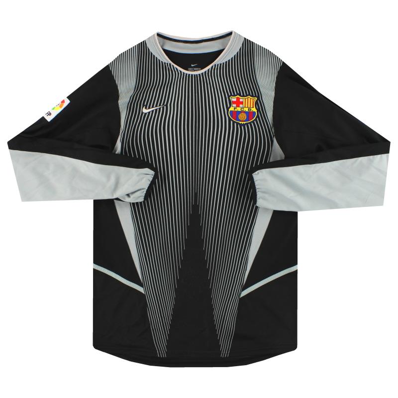 2002-03 Barcelona Nike Goalkeeper Shirt S - 184639