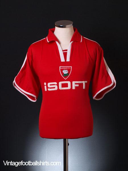2002-03 Barnsley Home Shirt M