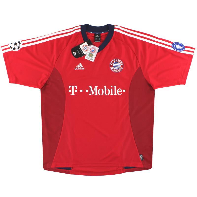 2002-03 Bayern Munich adidas Champions League Home Shirt *BNIB* XL - 167415