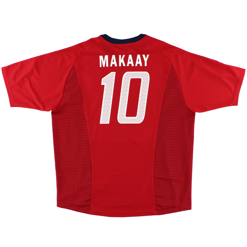 2002-03 Bayern Munich CL Home Shirt Makaay #10 XL