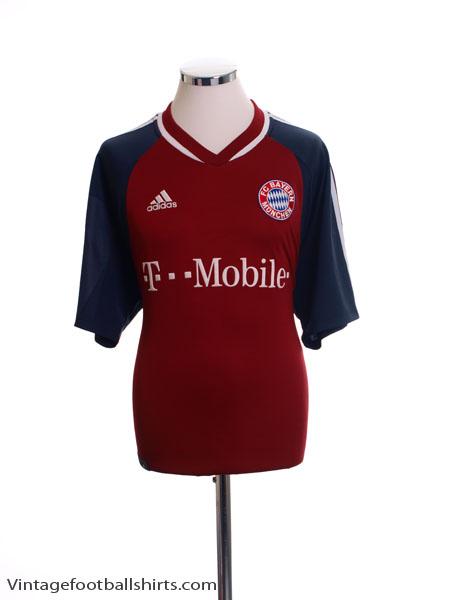 2002-03 Bayern Munich Home Shirt L