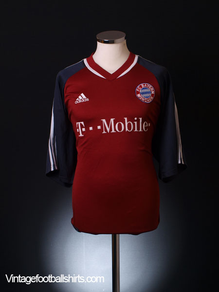 2002-03 Bayern Munich Home Shirt S
