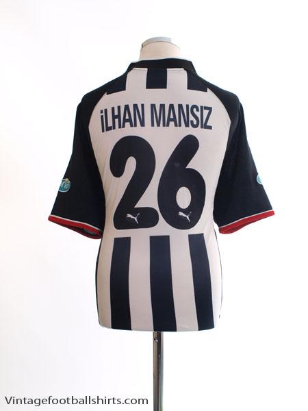 2002-03 Besiktas Centenary Away Shirt Ilhan Mansiz #26 XL