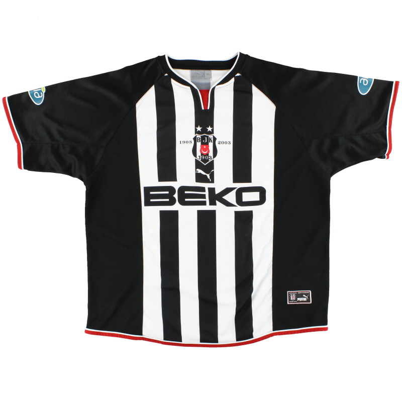 2002-03 Besiktas Puma Centenary Away Shirt XL