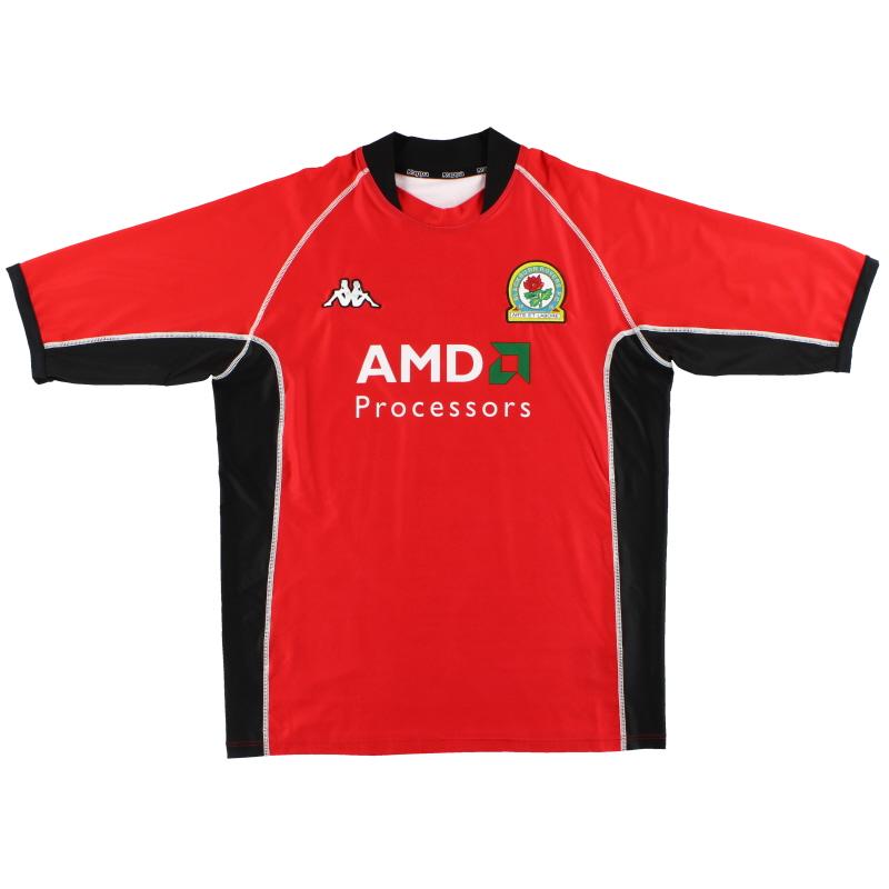 2002-03 Blackburn Kappa Away Shirt XXL