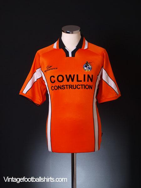 2002-03 Bristol Rovers Away Shirt *Mint* M