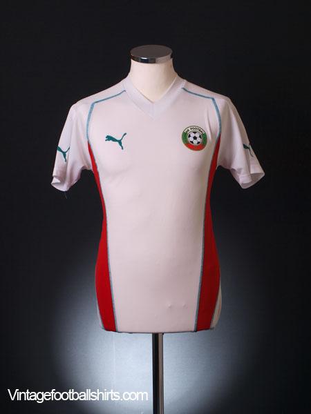 2002-03 Bulgaria Home Shirt L