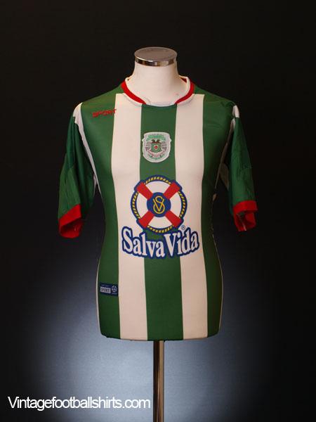 2002-03 C.D. Marathon Home Shirt L