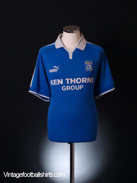 2002-03 Cardiff Home Shirt L