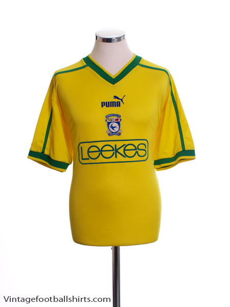 2002-03 Cardiff Third Shirt M